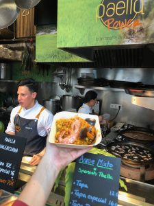 paella, mercado, spanishfood