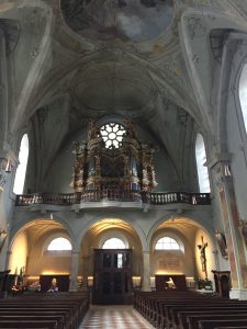 The Gothic Cathedral in Merano, Alto Adige