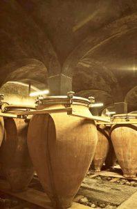 Anforaia at wine maker Elisabetta Foradori in North Italy