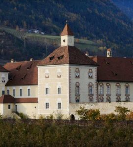 The Hofburg Palace in Bressanone, North Italy