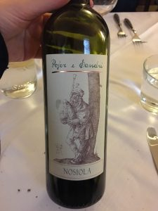A delicious white wine made of the Nosiola grapes of the Trento region by the producer Pojer e Sandri
