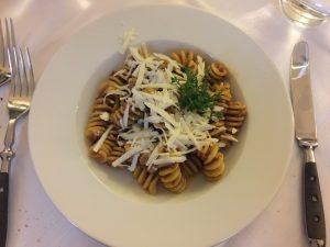 Pasta at Scrigno del Duomo in Trento