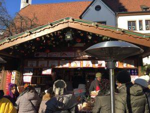 Bratwurst in Vipiteno Christmas Market