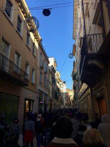 The streets of Verona, Italy